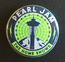PEARL JAM OFFICIAL 2018 SEATTLE THE HOME SHOWS SPACE NEEDLE PIN BUTTON