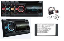 Sony wx-800ui Autoradio 2din CD mp3 AUX USB POUR FORD FOCUS C-MAX KUGA FIESTA