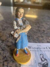Franklin Mint Wizard Of Oz Dorothy & Toto