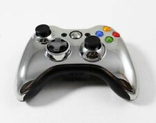 Official Microsoft Xbox 360 Wireless Special Edition Controller - Chrome Silver