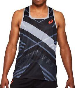 Asics Cooling Mens Running Vest - Black