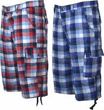 Unbranded Cotton Check Regular Shorts for Men