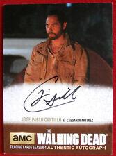 THE WALKING DEAD - JOSE PABLO CANTILLO as Caesar Martinez - AUTOGRAPH CARD JPC1