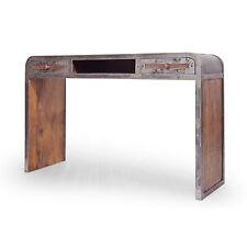 Konsole Saigon Mango Massivholz Metall 120 x 80cm Schreibtisch Konsolentisch NEU