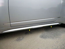 2010 2011 2012 2013 CADILLAC CADY CTS COUPE 4PC STAINLESS ROCKER PANEL TRIM