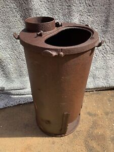 RARE WW2 German Army Relic Bunker Stove - Amazing condition!