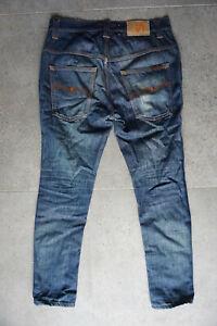 Nudie Thin Fin Denim Jeans - Size 32/32