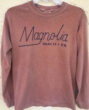 Magnolia Waco Tx. Long Sleeve T Shirt Size S