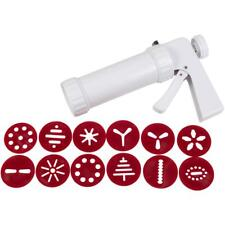Wilton COOKIE PRESS Christmas with 12 Discs Holiday Designs