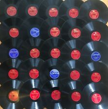 """Lot of 25x ORRIN TUCKER~Big Band~SWING JAZZ~Columbia~10"""" 78rpm 78s~ALL PICTURED"""