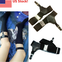 US! Black Butler Shieru Ciel Phantomhive Cosplay Socks Clip Gothic Punk Handwork