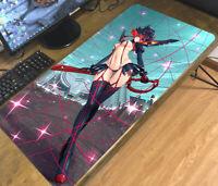gift * Kill La Kill Satsuki Ryuko Collection Anime Game Gaming Mouse Pad Mat