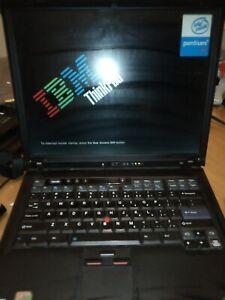 IBM Thinkpad R50 Laptop Pentium M, for parts or repair