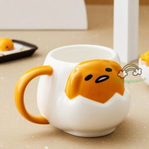 Gudetama EGG 3D Cute Milk Cups Coffee Ceramics Cup Mug Cartoon Gift New in Box