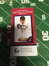 VINTAGE Cliff Lee Cleveland Indians Cy Young Bobblehead New In Box