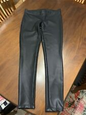 Express Faux Leather Legging Pants Black Never Worn Condition Medium
