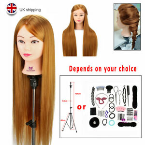 """Neverland 30"""" Practice Training Mannequin Styling Head Doll With Table Clamp UK"""