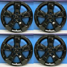 "2011-2014 Dodge Charger SE / SXT 17"" GLOSS BLACK Wheel Skins # IMP352GBLK + CAPS"