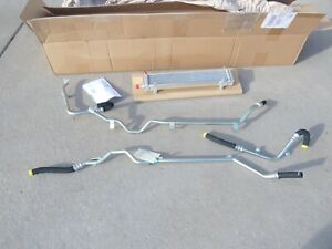 NEW Aston Martin 4G433110938 Oil Cooler Pipes & Clearing Kit CLR Part Fits DB9
