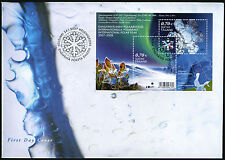 Finland FDC 2007 International Polar Year Sheet Mint