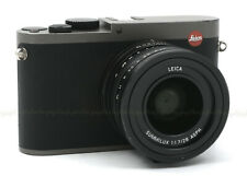 LEICA Q (Type 116) TITANIUM GRAY DIGITAL CAMERA #19012 USED with 2 EXTRA BATTERI