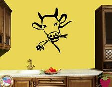 Wall Sticker Cow Farm Village Country Side Cool Modern Decor  z1452