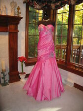 Mac Duggal 42253M Pink Prom Pageant Gown Dress 8