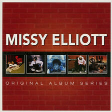 Missy Elliott ORIGINAL ALBUM SERIES Under Construction BOX SET New Sealed 5 CD