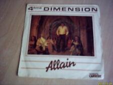 Vinyle 45 tours: Allain : 4ème dimension.