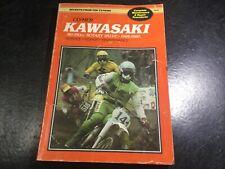 1966-1980 Kawasaki 80-350cc Rotary Valve Clymer Manual KX125 KE175 KM100 KD80