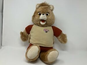 1984/85  Teddy Ruxpin Bear Worlds Of Wonder With  Airship Cassette Tested Works