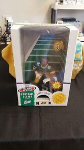 "NIB 1997 8"" NFL REGGIE WHITE GREEN BAY PACKERS TALKING ACTION FIGURE BEST"