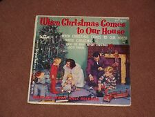 VTG FDR WHEN CHRISTMAS COMES TO OUR HOUSE 45 RECORD ALBUM WALDORF MUSIC HARRISON