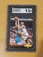 1992 Upper Deck #34 AS Shaquille O'Neal SGC 9.5 POP 2 None > RC Rookie PSA BGS