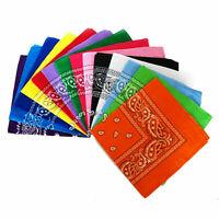 Bandana Paisley headwrap bandana coiffure/Hair Band foulard poignet cou Wrap Ban