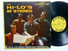HI-LO's In Stereo LP w/ Frank Comstock ORCH. Pop Vocal Group VG+ vinyl   fm17