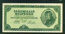 HUNGARY - 1946 100,000,000 Pengo Circulated Banknote
