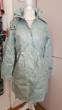 Ladies summer raincoat / jacket size 8 mint green