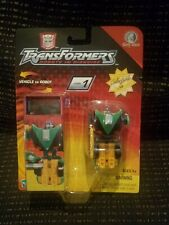 Transformers Rid 2001 Spy Changers Sideswipe w/Collectable Tin