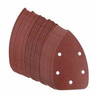 30Pcs 60+80+120 Grit Sanding Sheets Disk Sandpaper For Black & Decker Palm  Z8N5