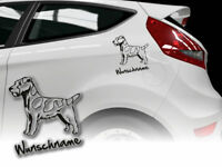 Aufkleber Russel Terrier Parson Russell Terrier H366 Wunschname Auto