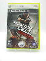 Splinter Cell: Conviction Xbox 360 Game Complete Case With Manual