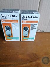 New In Box 100 Accu- Chek Mobile TEST Cassettes
