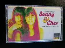 The Beat Goes On: The Best of Sonny & Cher CASSETTE TAPE -1991 NEW