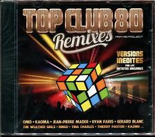 TOP CLUB 80 REMIXES - MS PROJECT - CD COMPILATION NEUF ET SOUS CELLO