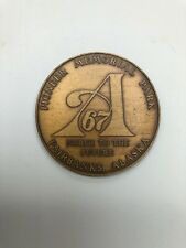 PIONEER MEMORIAL PARK FAIRBANKS ALASKA 1867-1967 CENTENNIAL TOKEN
