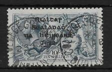 IRELAND SG21 1922 10/= DULL GREY-BLUE USED