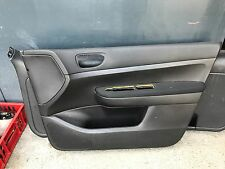 DOOR PANEL LEFT FRONT PEUGEOT 307 SW Black Genuine 9638206777
