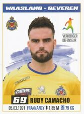 313 RUDY CAMACHO # FRANCE KV.WAASLAND-BEVEREN STICKER PRO LEAGUE 2017 PANINI