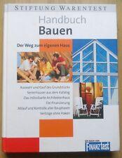 HANDBUCH BAUEN Der Weg zum eigenen Haus Stiftung Warentest 1999 gebunden